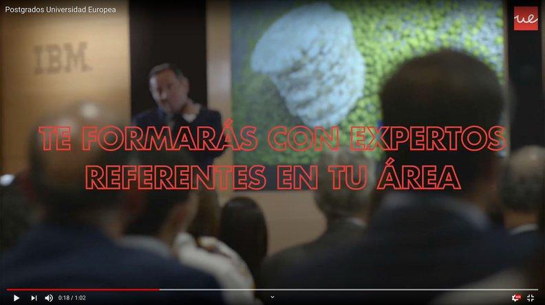 Vídeo 3 Máster Dirección y Gestión RRHH UEM