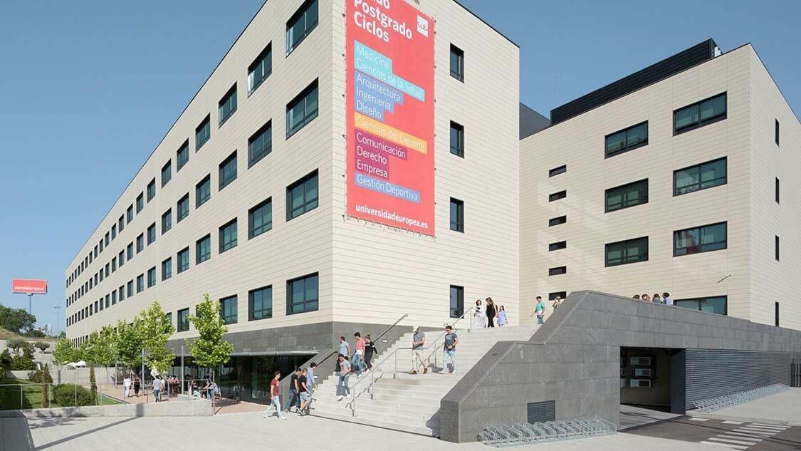 campus Alcobendas Universidad Europea
