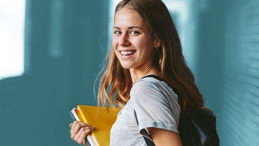 estudiante chica