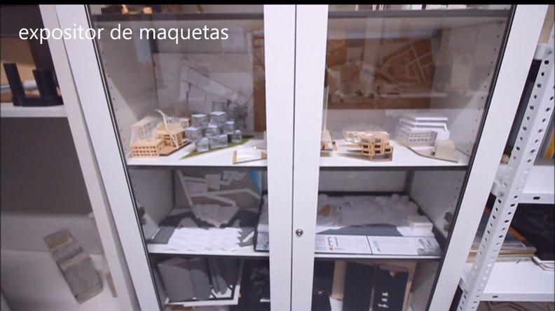 expositor de maquetas AED Canarias