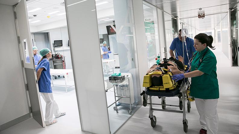 Instalaciones Hospital Simulado Universidad Europea de Madrid