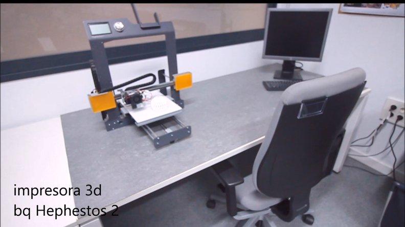 impresora 3d AED Canarias