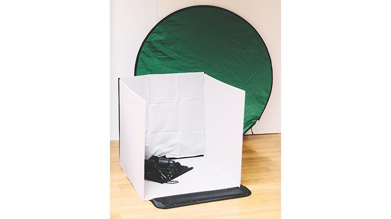 Caja luz laboratorio fotográfico