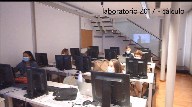 laboratorio informatica AED Canarias