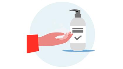 Puntos higienizantes